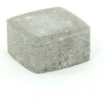 Pihakivi Rudus Klassikko neliö 60, 115x115x60mm, sileä, harmaa