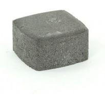 Pihakivi Rudus Klassikko neliö 60, 115x115x60mm, sileä, musta