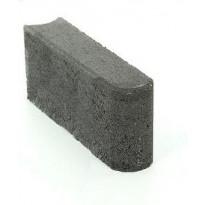 Reunakivi Rudus, 250x80x140mm, sileä, musta