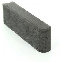 Reunakivi Rudus, 500x80x140mm, sileä, musta