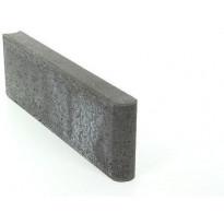 Reunakivi Rudus, 800x80x250mm, sileä, musta