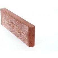 Reunakivi Rudus, 800x80x250mm, sileä, punainen