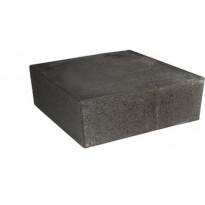 Porraskivi Rudus Askel, 400x420x130mm, sileä, musta