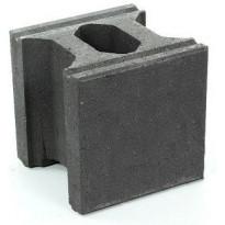 Muurikivi Rudus Paasikko peruskivi, 280x280x280mm, sileä, musta