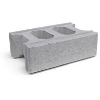 Muurikivi Rudus Paasikko peruskivi, 420x280x140mm, sileä, harmaa
