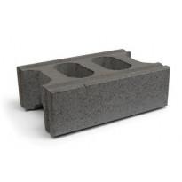 Muurikivi Rudus Paasikko peruskivi, 420x280x140mm, sileä, musta