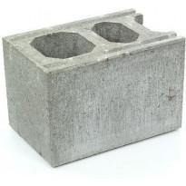 Muurikivi Rudus Paasikkomuurin kulma/pääty, 420x280x280mm, sileä, harmaa