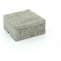 Muurikivi Rudus Muurikko kansikivi, 235x235x100mm, sileä, harmaa