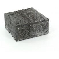 Muurikivi Rudus Muurikko kansikivi, 235x235x100mm, sileä, musta