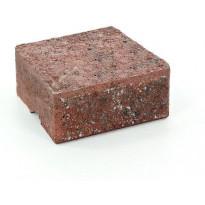 Muurikivi Rudus Muurikko kansikivi, 235x235x100mm, sileä, punamusta