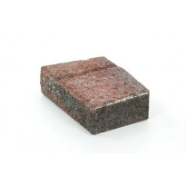 Muurikivi Rudus Muurikko kulmakivi, 352x235x100mm, sileä, punamusta