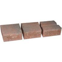 Muurikivi Rudus Muurikko kaarrekivet, 235x235x100mm, sileä, punamusta