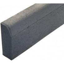 Upotettava reunakivi Rudus J1, suora, 800x110x300mm, sileä, harmaa