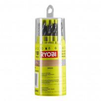 Poranteräsarja Ryobi RAK18DMIX, 18 osaa, puulle/metallille/betonille