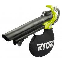 Akkulehtipuhallin/lehti-imuri Ryobi Max Power RBV36B, 36V, ilman akkua
