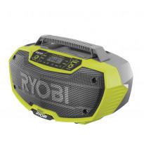 Bluetooth-akkuradio Ryobi ONE+ R18RH-0, 18V, ilman akkua