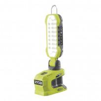 LED-työvalaisin Ryobi ONE+ R18ALP-0, 18V, ilman akkua, tarjottimella