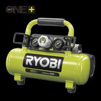 Kompressori RYOBI R18AC-0 3.8 L säiliö, ONE+ 18V, iman akkua