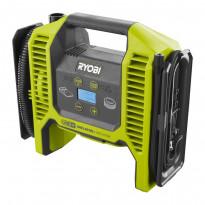 Akkukompressori Ryobi ONE+ R18MI-0, 10.3bar, 18V, ilman akkua, Verkkokaupan poistotuote