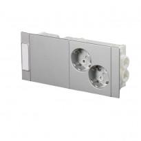 Kanavapistorasia ABB ProDuct - 2S/16A/IP20 Kytk. alumiini