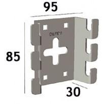 Seinäkiinnike sähkö Zn B4 B10