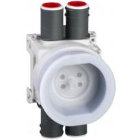 Valurasia Schneider Electric Unica System+ 5x XS, lattiapistorasioille