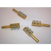 N-haaroitusliitin NIKALE 3-OS 35x8x7 mm, 5kpl