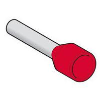 Pääteholkki DZ5CE010 1.0 MM2 punainen