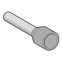 Pääteholkki DZ5CE025 2,5 mm2 harmaa