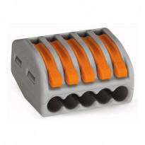 Vipurasialiitin Wago 222-415, 5-osainen, 0,08-4mm², 40kpl