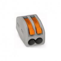Vipurasialiitin Wago 222-412, 2-osainen, 0,08-4mm², 50kpl