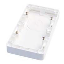 Pinta-asennuskotelo 2-osainen h=20mm IP21 valkoinen
