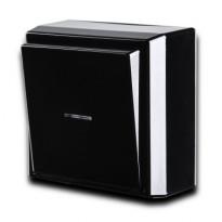 Kytkin Ensto Intro - 6/10A/250V/IP21 PPJ LI musta