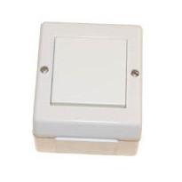 Kytkin 1/16A/250V/IP55 imp PA R 2X valkoinen