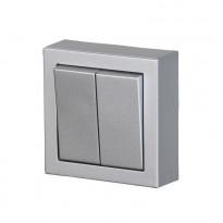 Kytkin ABB Impressivo - 5/16AX/250V/IP21 PPJ 2X alumiini