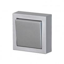 Kytkin ABB Impressivo - 6/16AX/250V/IP21 PPJ 2X alumiini