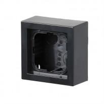 Pintakotelo ABB Impressivo - 1OS/IP20 41mm antrasiitti