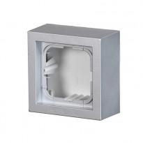Pintakotelo ABB Impressivo - 1OS/IP20 41mm alumiini