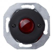 Renova merkkivalo, punainen linssi, musta