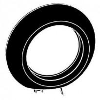 Päätypeitelevy Renova 1-osainen musta
