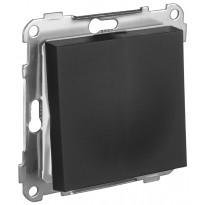 Kytkin ELKO Plus, 6/16A/250V/IP20 UKJ, musta