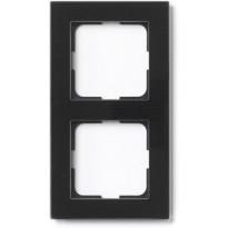 Peitelevy ELKO Plus, Option lasi, musta, 2-osainen