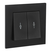 Verhokytkin ELKO Plus, 1/16A/250V/IP20 UPJ, musta