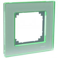 Peitelevy 1-osainen lasi titaani ExxactSolid