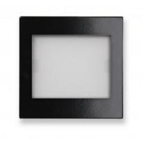 Merkkivalokaluste Ensto Intro - LS539SWLEDLW-12 MV-keskiö musta