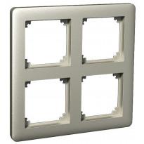 Peitelevy 2x2-matriisikehys metalli ExxactPrimo