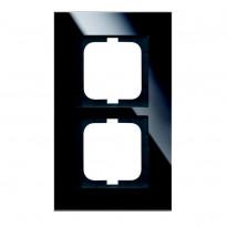 Peitelevy ABB Carat - 2OS/IP20/115mm musta