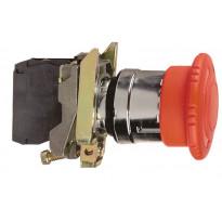 Hätä-Seis painike XB4BS8445 1s 1a punainen 40mm