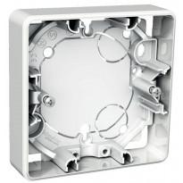 Pintakojerasia 1-osainen 21 mm valkoinen Exxact