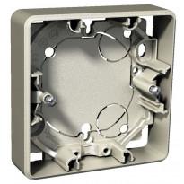 Pinta-asennusrasia 1-osainen 21 mm metalli Exxact